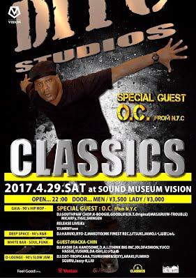 2017/04/29 (SAT) CLASSICS @渋谷SOUND MUSEUM VISION